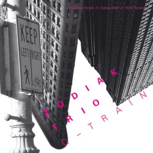 CD Cover Zodiak Trio - Q Train