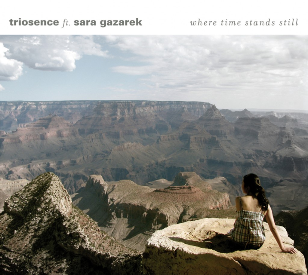 CD Cover Triosence ft. Sara Gazarek - Where Time Stand Still