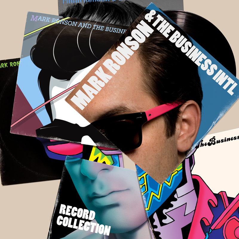 Mark Ronson Record Collection