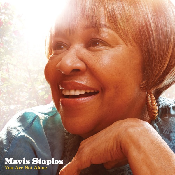 Mavis Staples Your Are Not Alone CD Cover