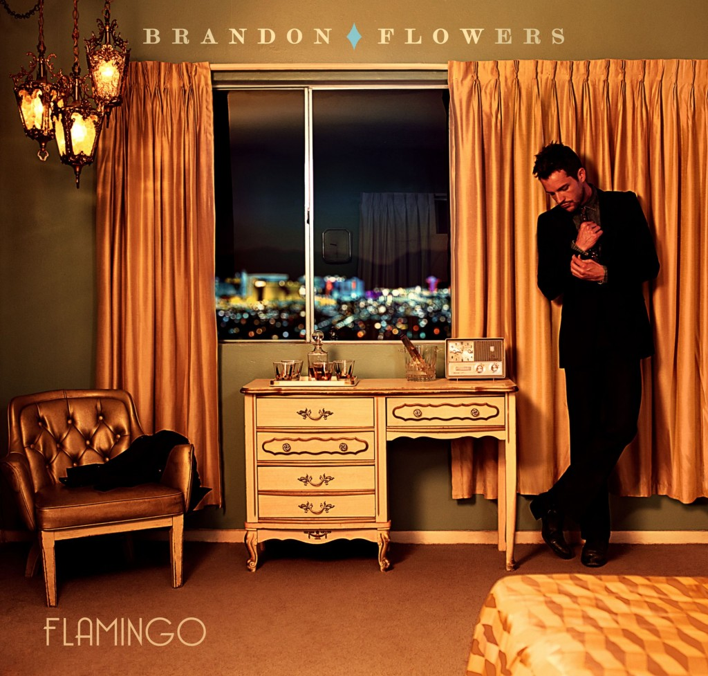 CD Cover BRandon Flowers - Flamingo