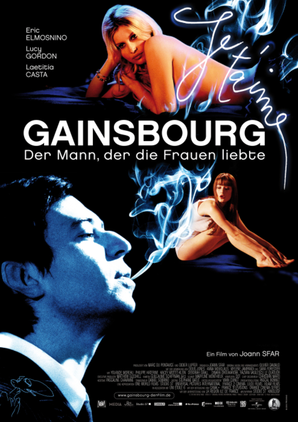 Gainsbourg Vie Heroique Poster