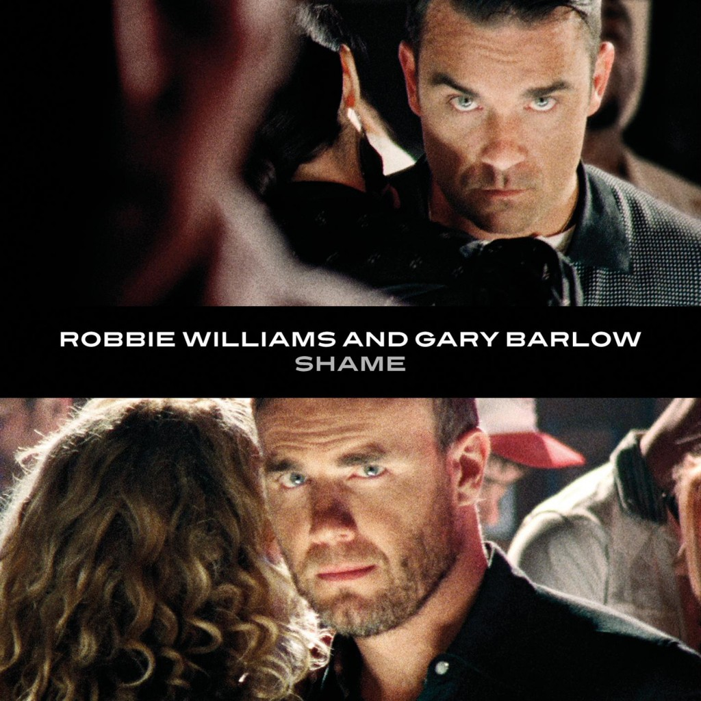 robbie williams gary barlow shame cover