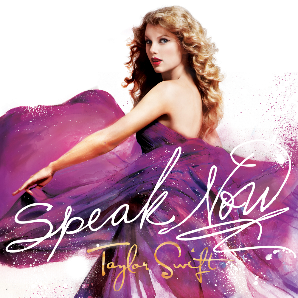 Taylor Swift Speak Now Cover