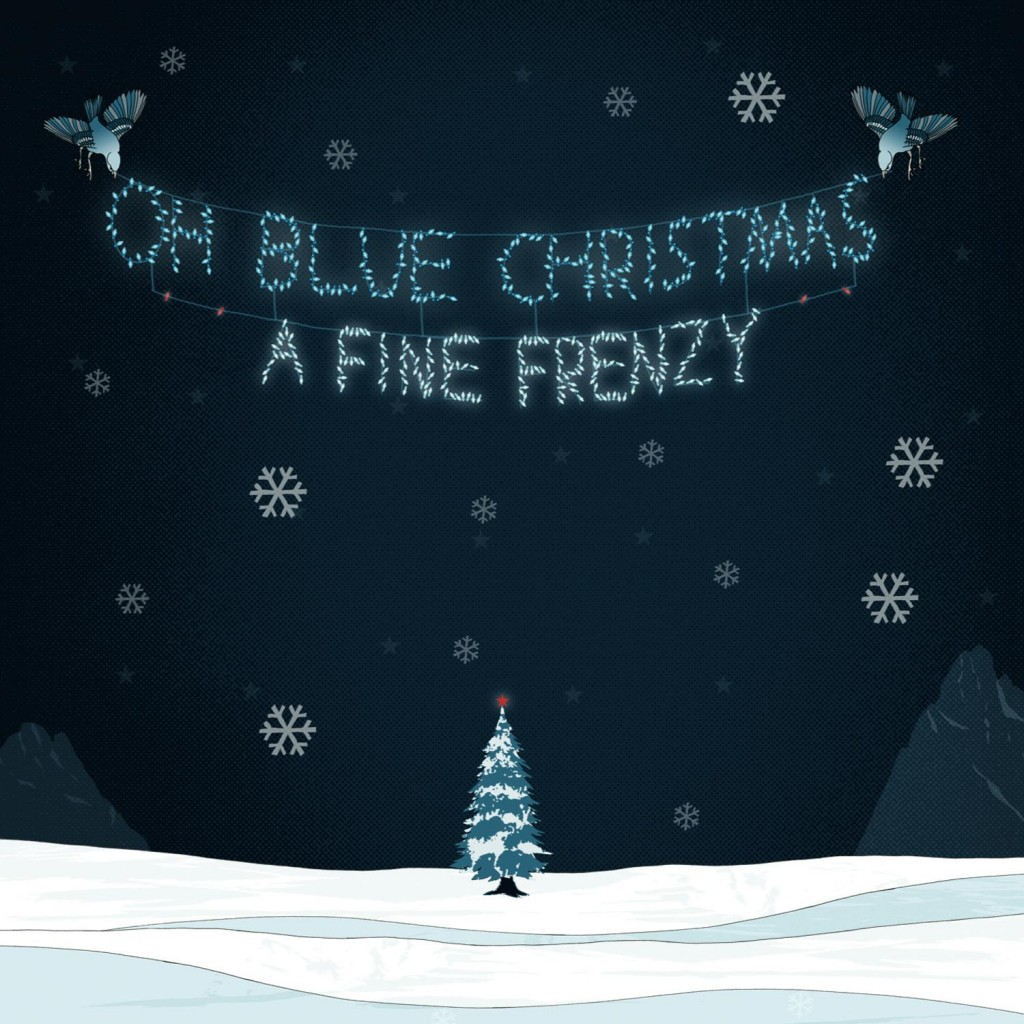 A Fine Frenzy Oh Blue Christmas Cover