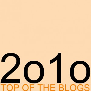 2010 top of the blogs