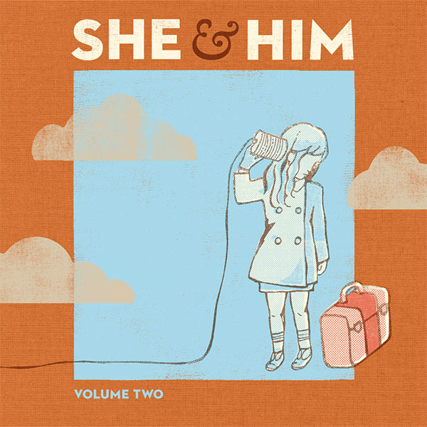 She & Him Volume 2 CD Cover