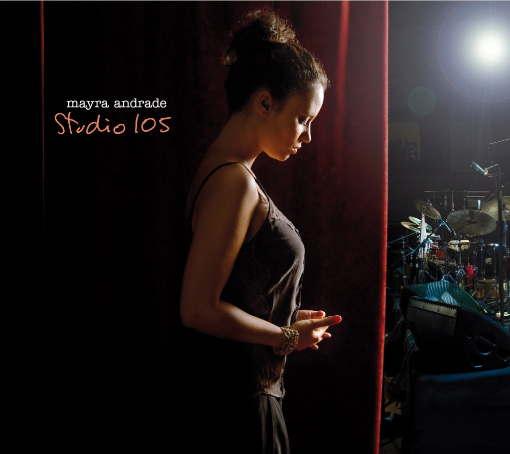 Mayra Andrade Studio 105 CD DVD Cover