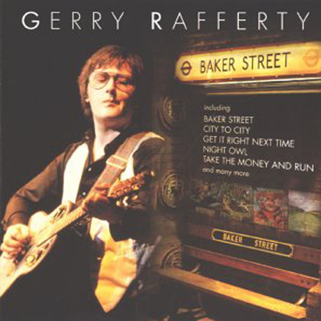 Gerry Rafferty Baker Street CD Cover