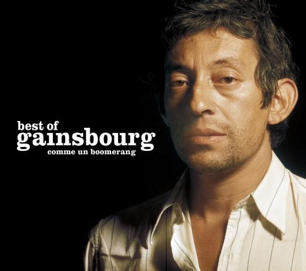 Serge Gainsbourg Comme Un Boomerang CD Cover