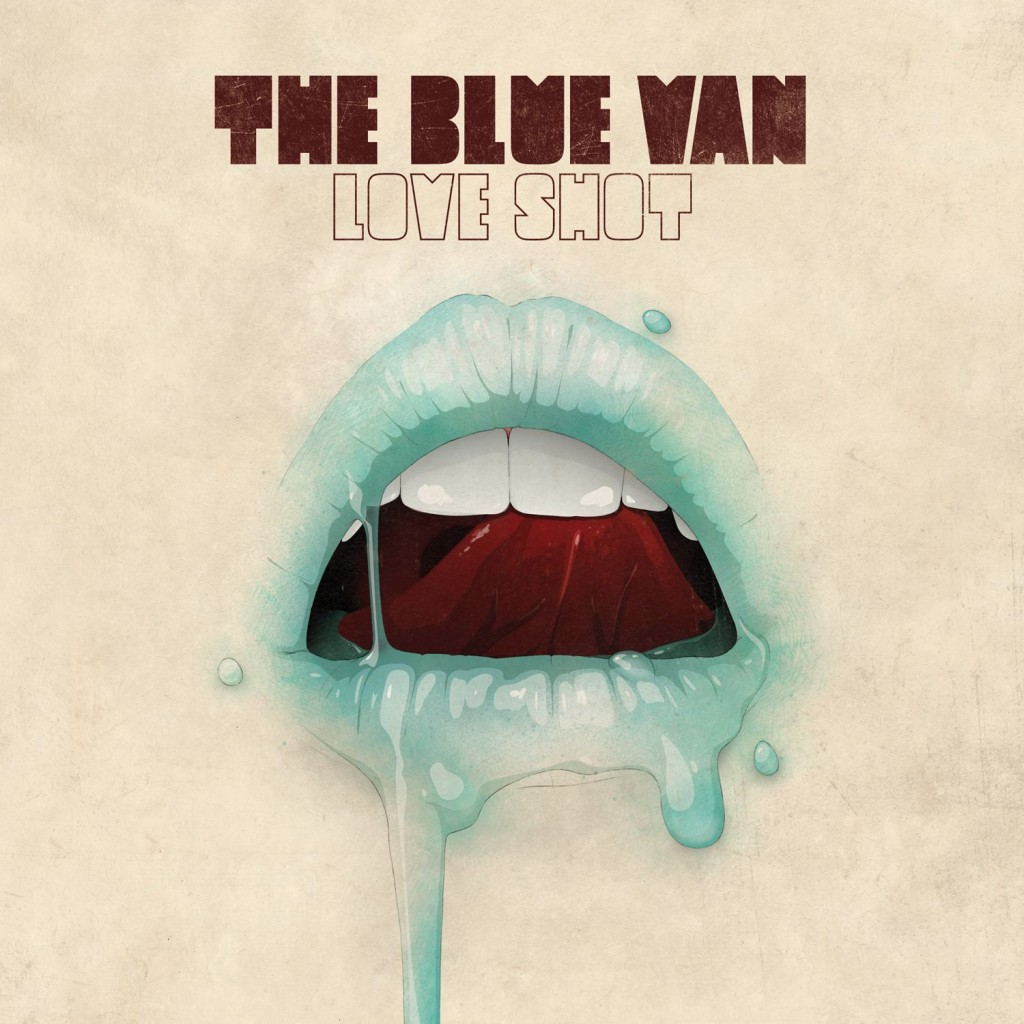 The Blue Van Love Shot CD Cover