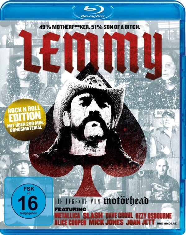 Lemmy Film Blu-ray Cover