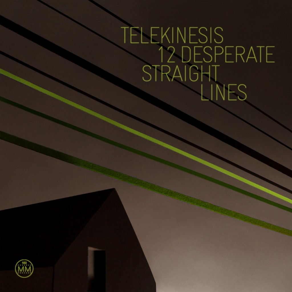 Telekinesis 12 Desperate Straight Lines CD Cover
