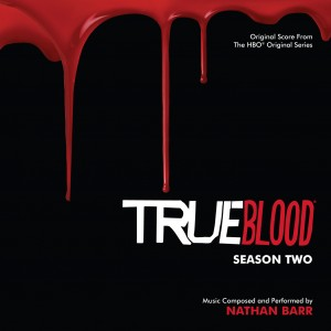 True Blood Season Two CD Cover Nathan Barr