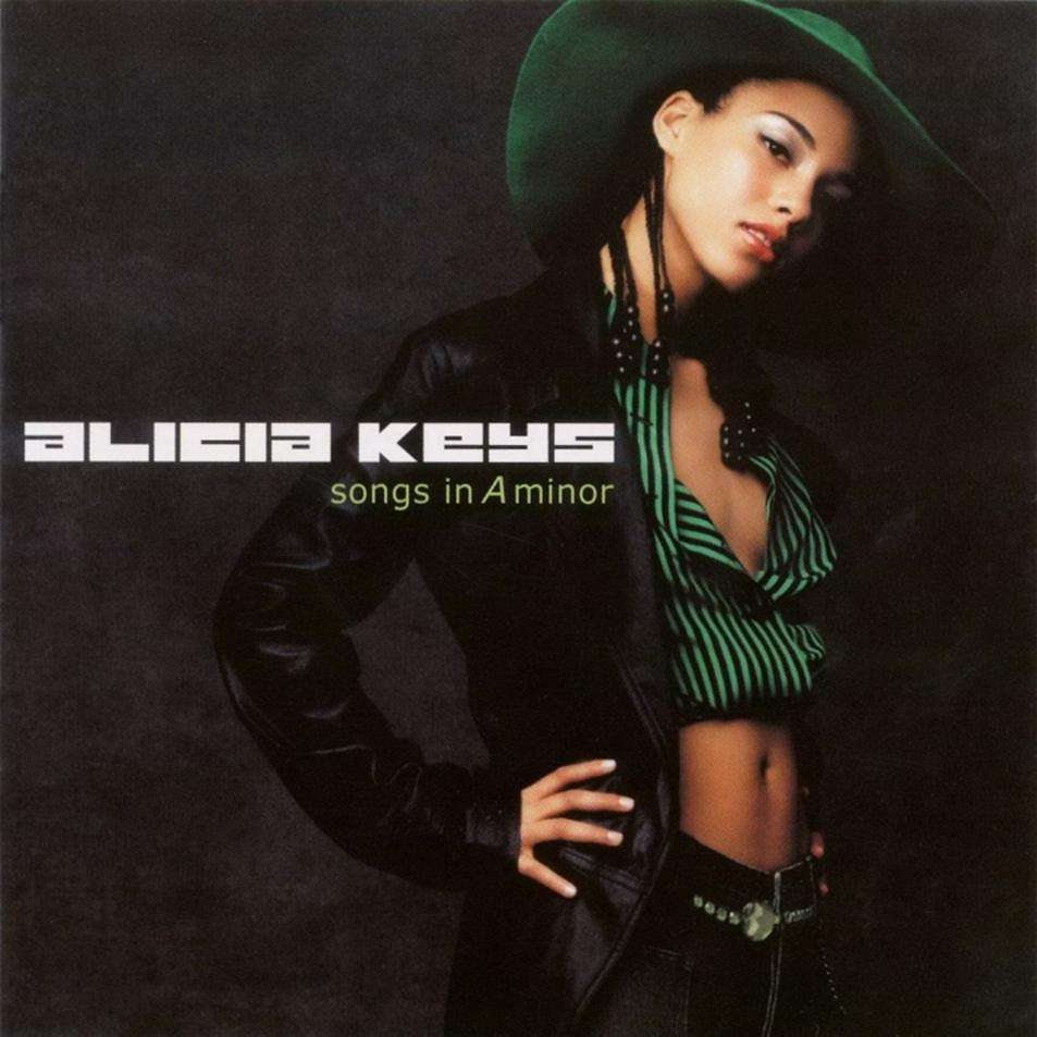 Alicia Keys Songs In A Minor CD Cover