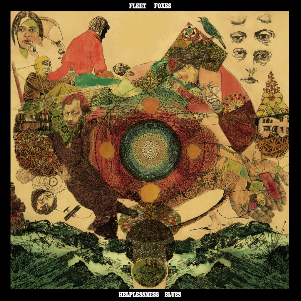 Fleet Foxes Folk Helplessness Blues CD Cover