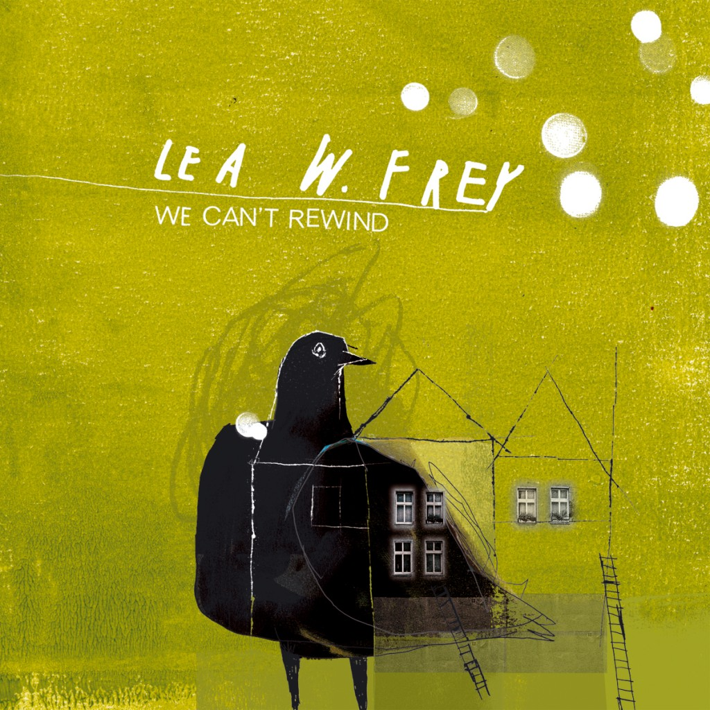 Lea W Frey We Can't Rewind CD Cover