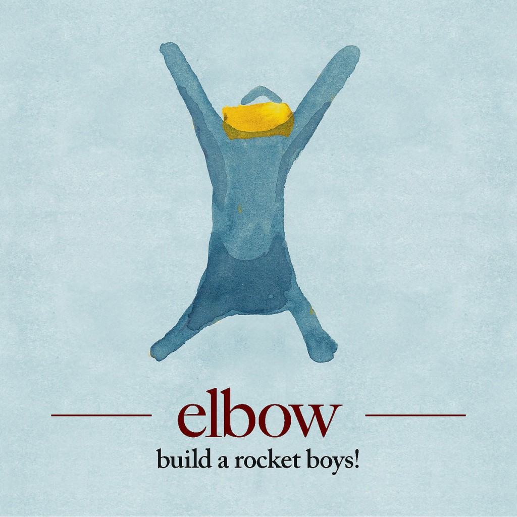 Elbow Build A Rocket Boys! Guy Garvey CD Cover