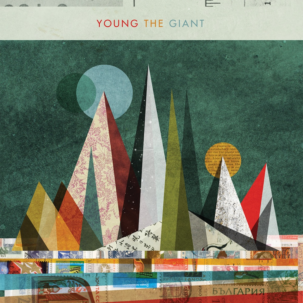 Young The Giant CD Cover Debut