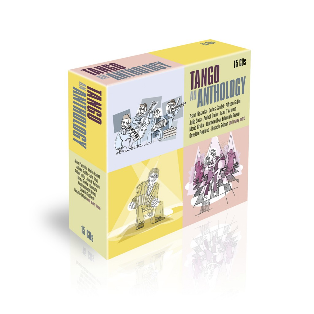 Tango An Anthology CD Set Cover