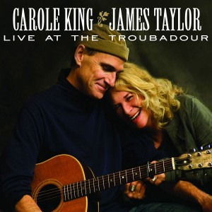 James Taylor & Carole King Live At The Troubadour CD Cover