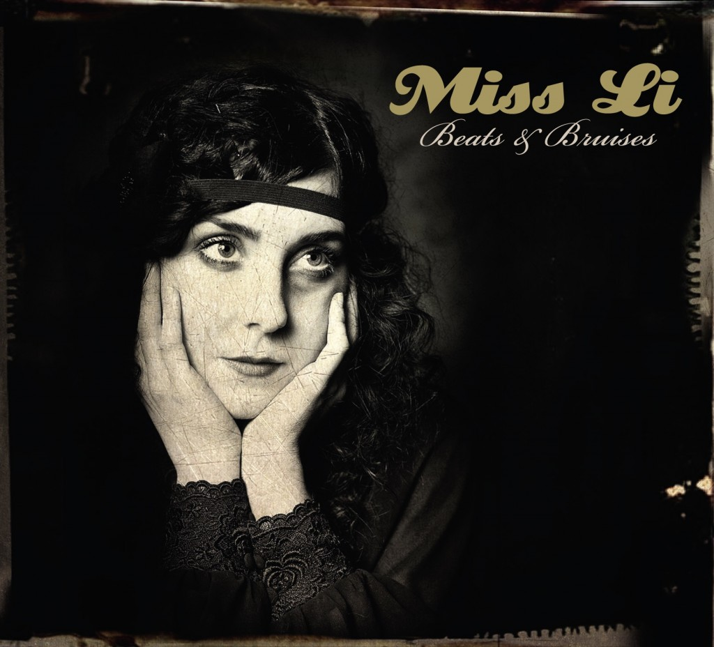 Miss Li CD Cover Beats & Bruises