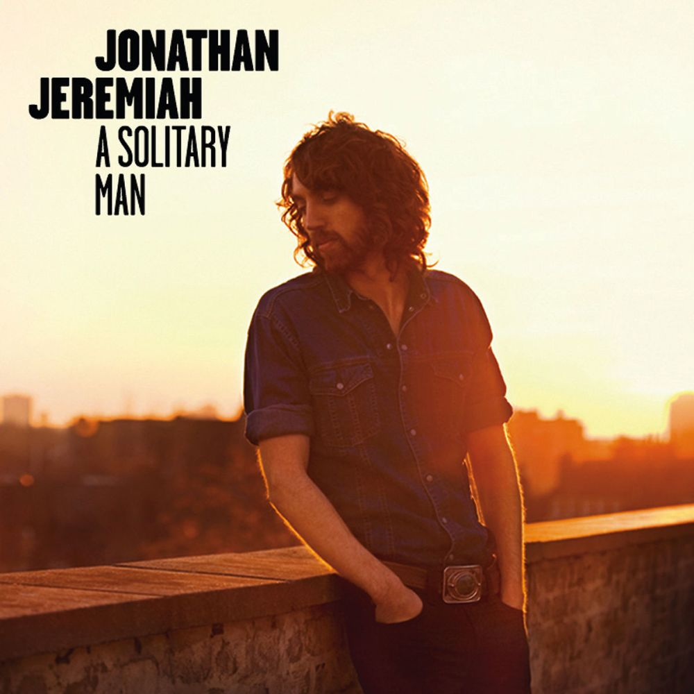 Jonathan Jeremias A Solitary Man CD Cover