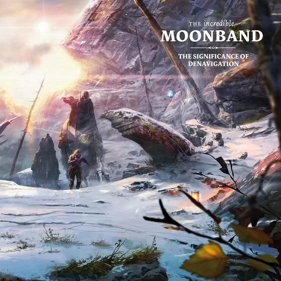 The incredible Moonband CD Cover