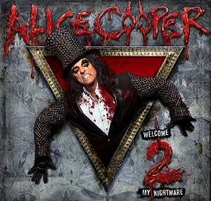 Welcome Two My Nightmare Alice Cooper CD Cover