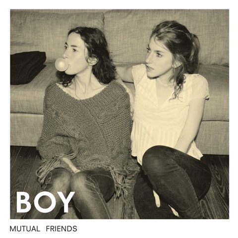 Boy Mutual Friends CD Cover