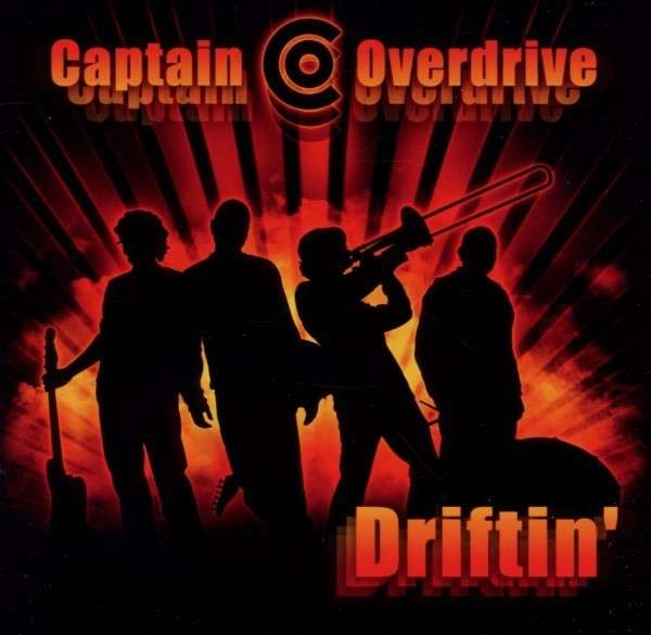 Captain Overdrive Driftin CD Cover