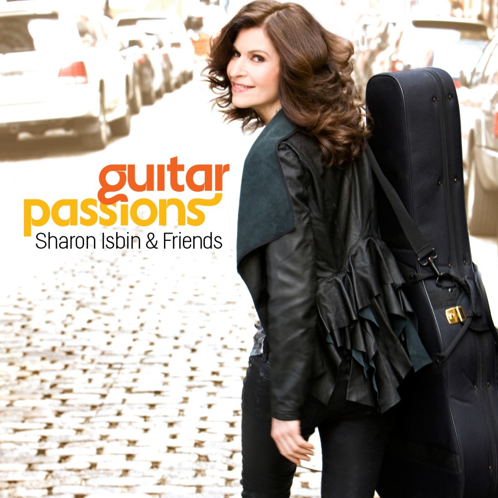 Sharon Isbin Guitar Passions CD Cover