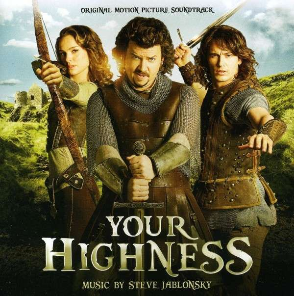 Your Highness Steve Jablonsky CD Cover