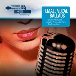 Female Vocal Ballads CD Cover Blue Note