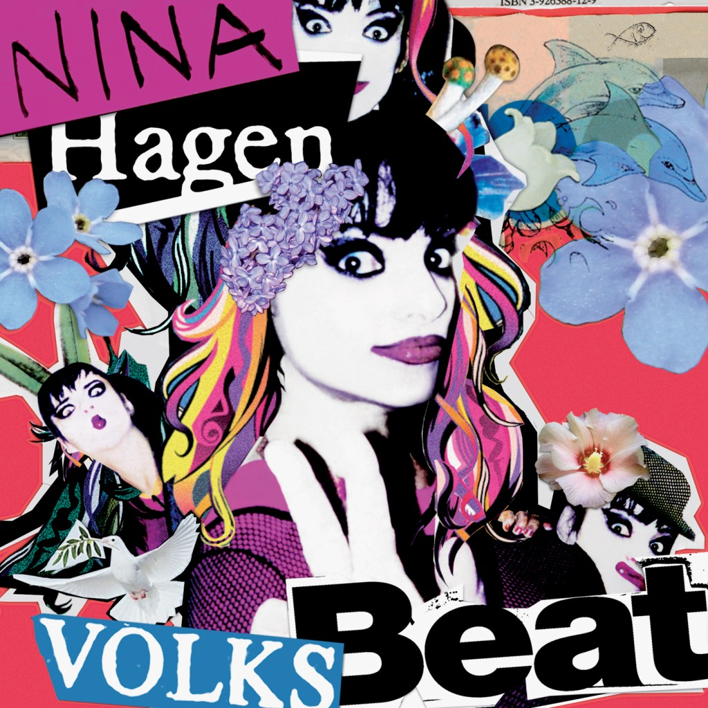 Nina Hagen Volksbeat CD Cover