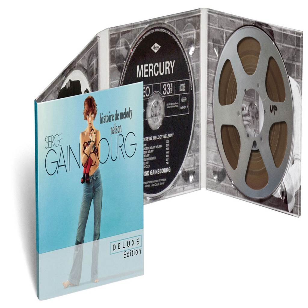 Serge Gainsbourg Melody Nelson CD Cover