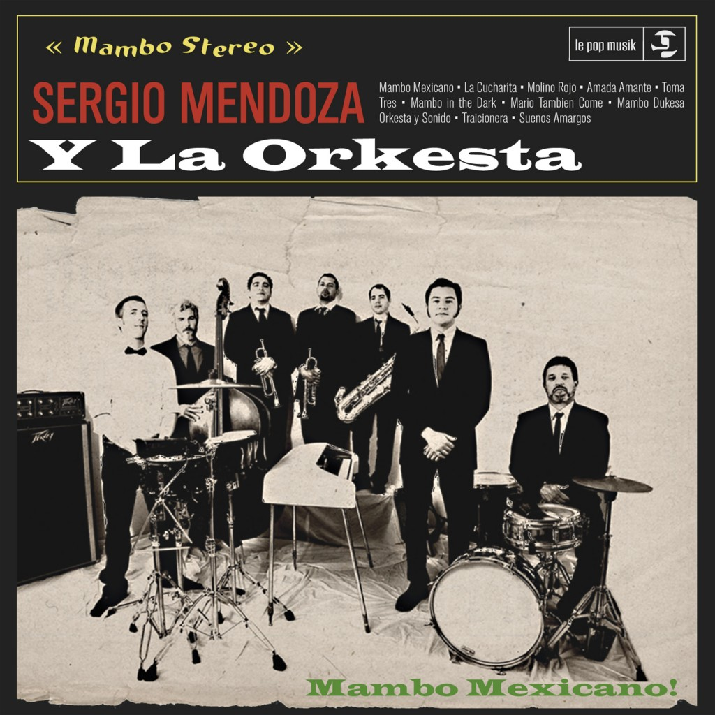 Sergio Mendoza CD Cover