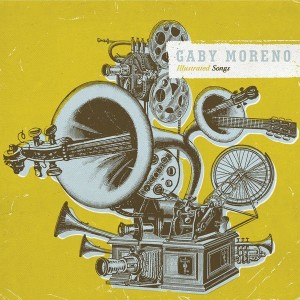Gaby Moreno CD Cover Illustrated Songs