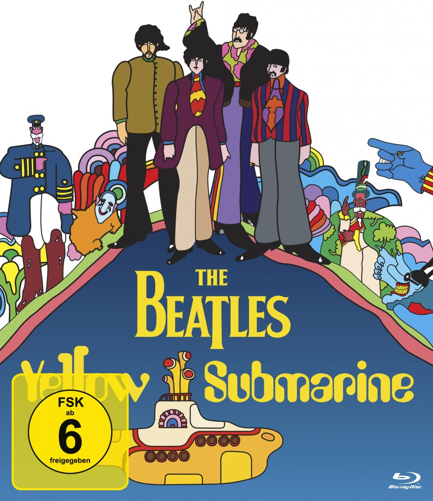 Yellow Submarine Blu-ray Cover