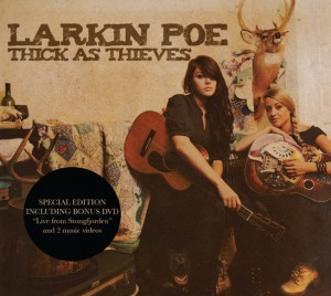 Larkin Poe Thick As Thieves CD Cover