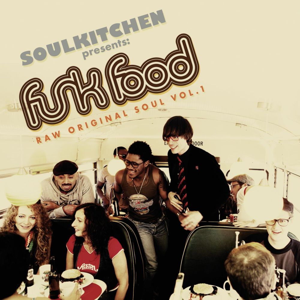 Soulkitchen Funk Food CD Cover