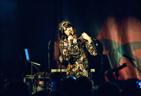 Bat For Lashes In Cambridge Live