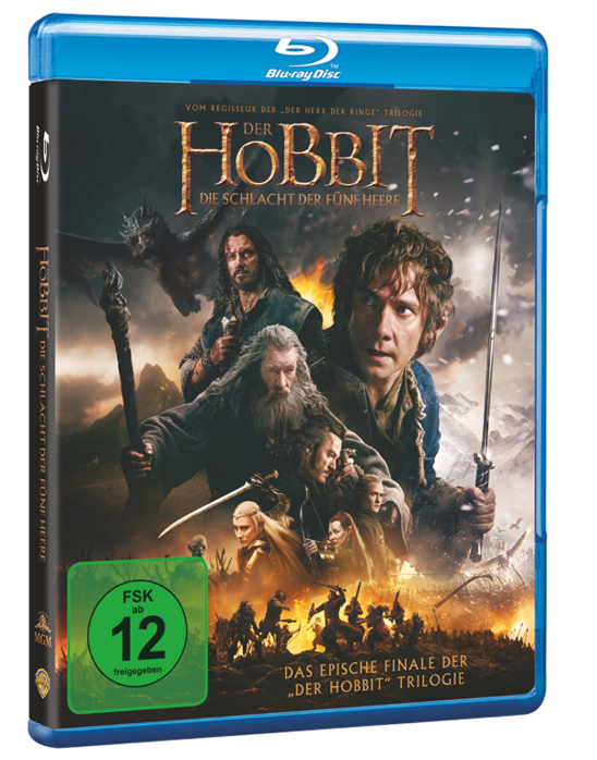 Hobbit Bluray Cover