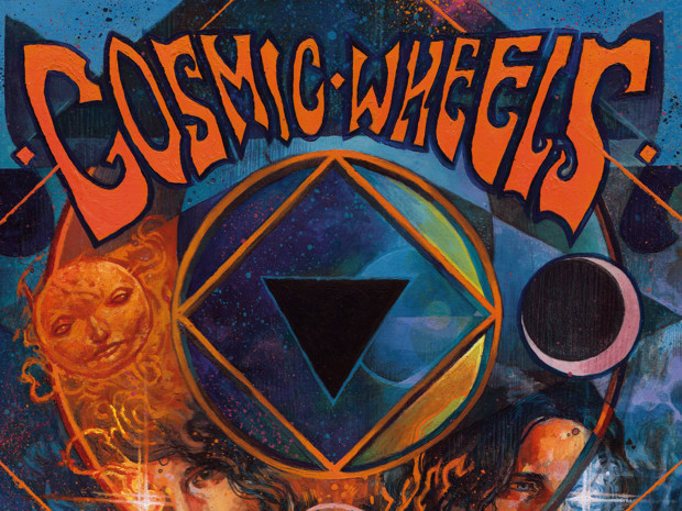 Cosmic Wheels CD Cover