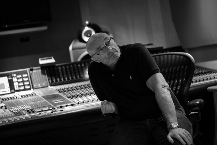 Phil Collins im Studio