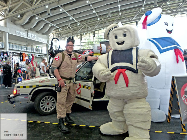 Ghostbuster & Stay Puft