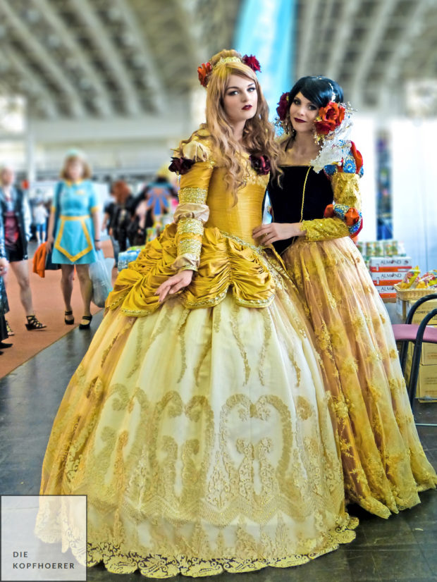 Belle & Snow White