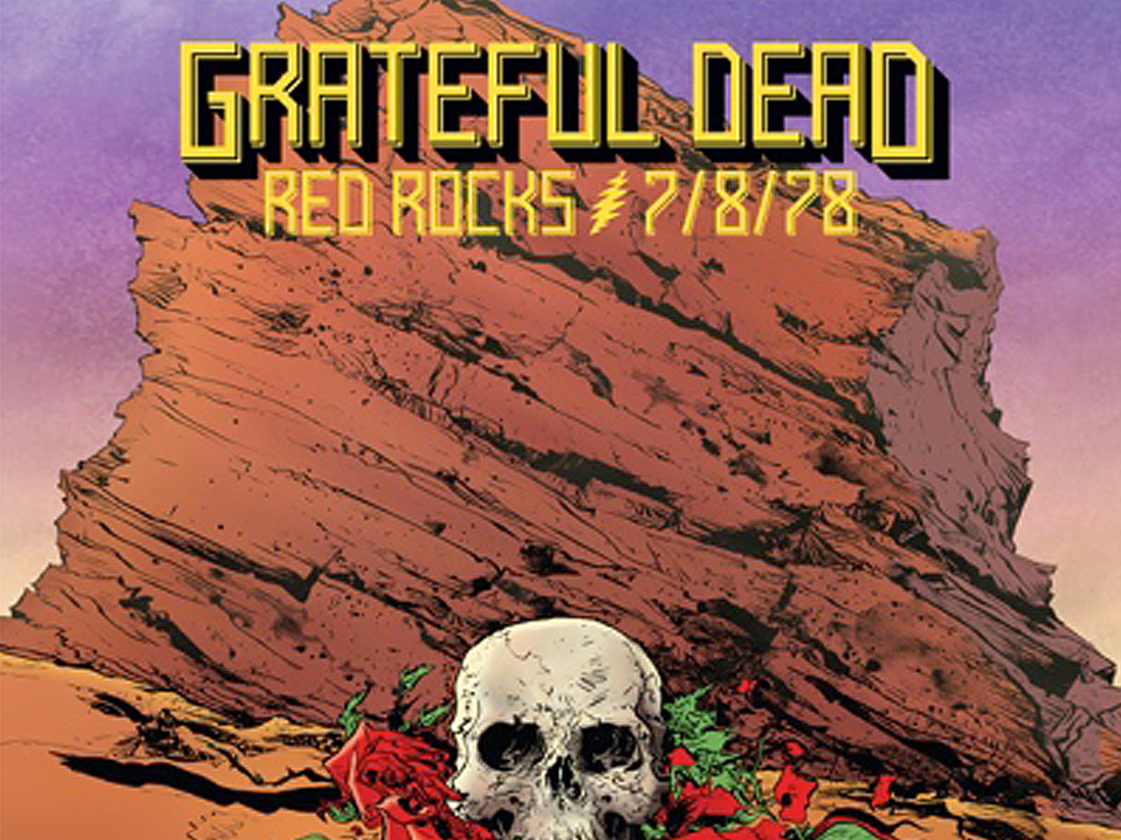 Grateful Dead Red Rocks 7/8/78