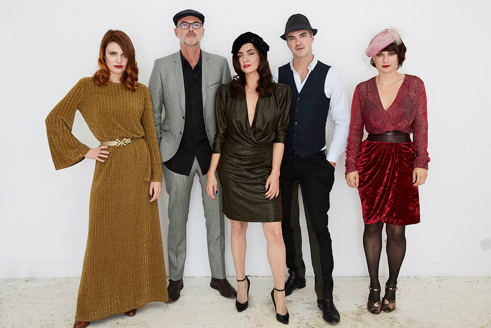 Bandfoto Nouvelle Vague