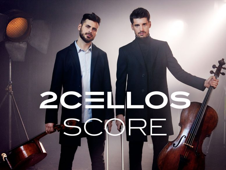 2cellos score cd cover
